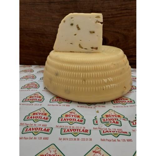 Olgunlaştırılmış Zeytinli Sepet Kaşar Peyniri Şirden Mayalı 500 gr