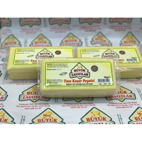 Tostluk Blok Kaşar Peyniri 2 kg
