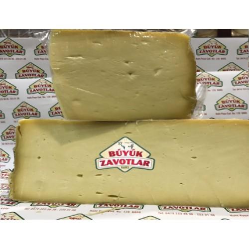 Keçi ve Koyun Sütlü 3 YILLIK Şirden Mayalı Eski Kaşar Peyniri Vakumlu 1 kg