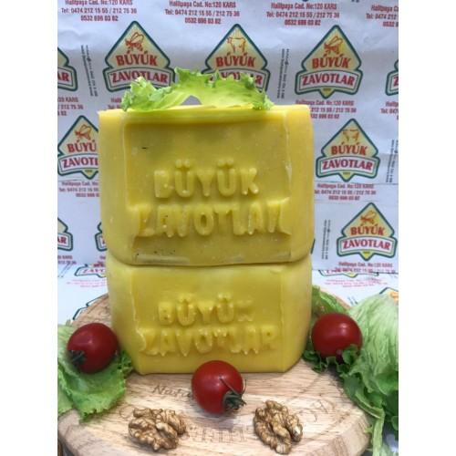 Hediyelik Kars kaşar peyniri şirden mayalı 1,950 - 2,000 kg