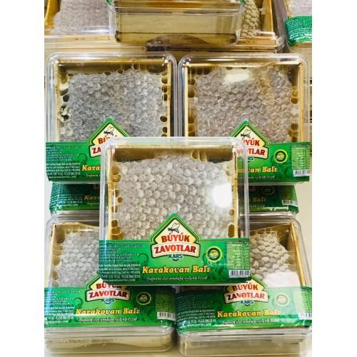 Organik Çıldır Karakovan Petekli Balı (KASET) 400 gram